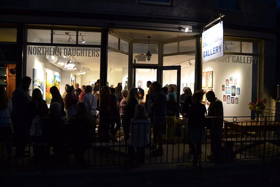 Vergennes, VT: From the opening reception of Madonnas Make You Brave