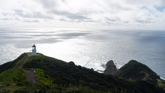 Nordøya, New Zealand: View from the hill