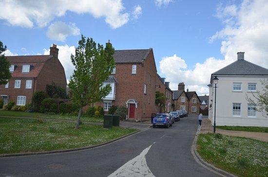 Dorchester, UK: Row housing in Poundbury
