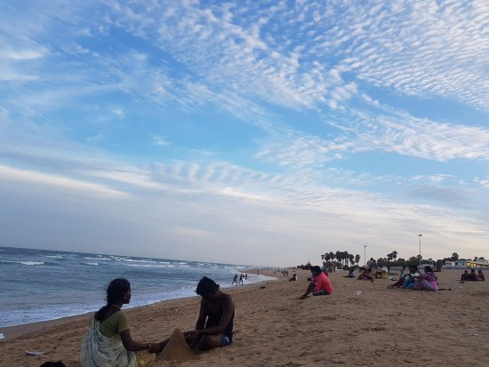Tiruchendur, Indien: beach beside the temple. wow!