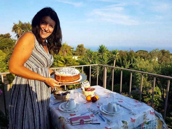 Villa Damecuta: Raffaella e le sue torte