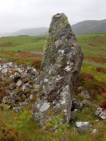 Bettyhill, UK: Coille a Borgie Cairn on the Strathnaver Trail.