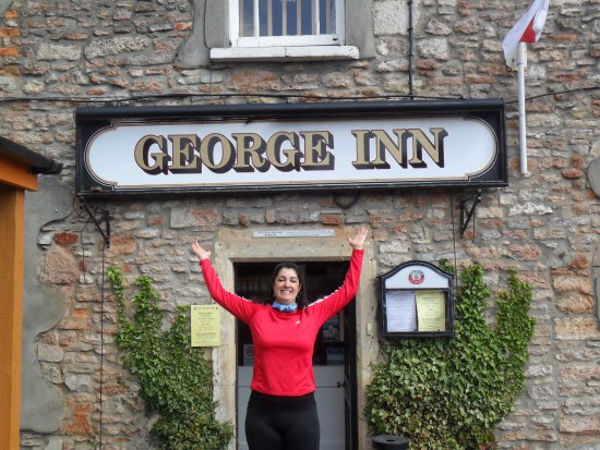 Im am such a tourist! My favourite pub in England: The George Inn in Croscombe.