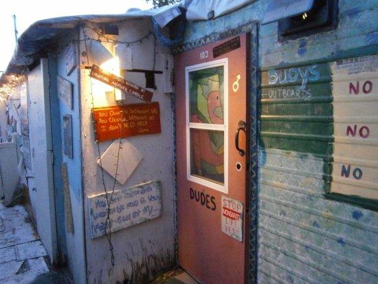 Tom's Burned Down Cafe: men's room