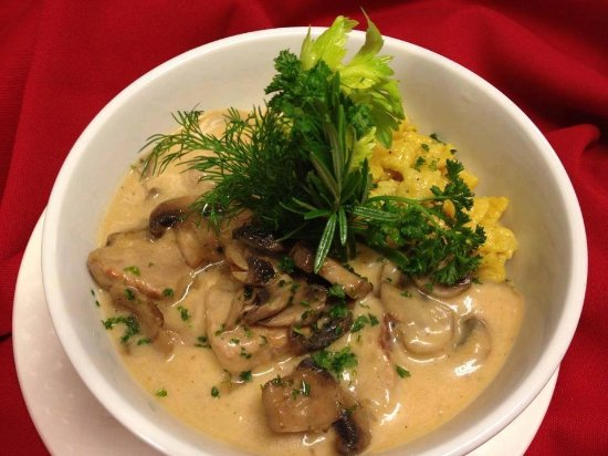 Old Europe Restaurant: Old Europe's creamy veal goulash
