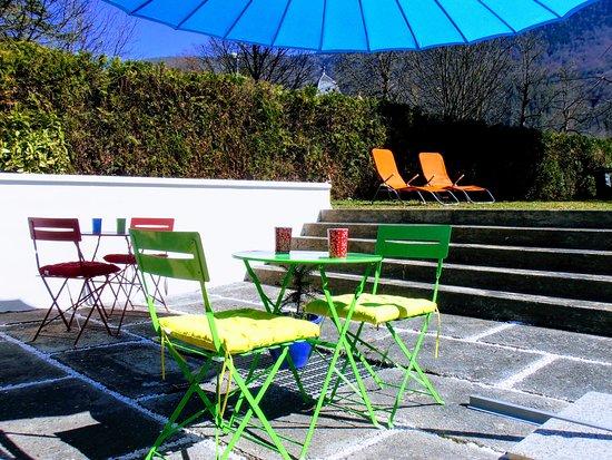 Bagneres-de-Luchon, Frankrijk: Terrasse