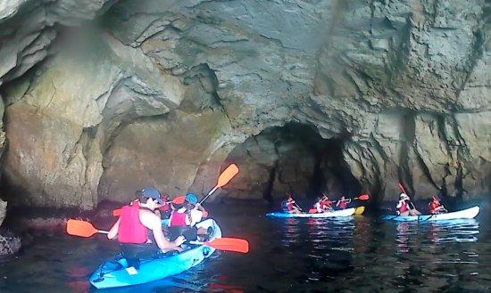 Nijar, Spanien: Cuevas de piratas