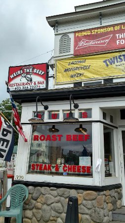 Laconia, NH: Weirs the beef window