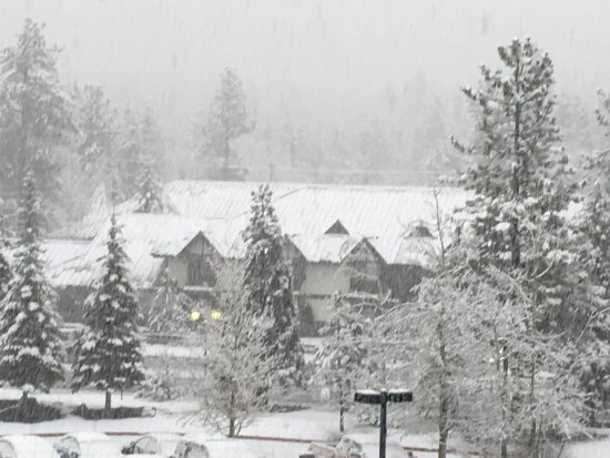 Lake Tahoe Vacation Resort: that was the view when we arrived