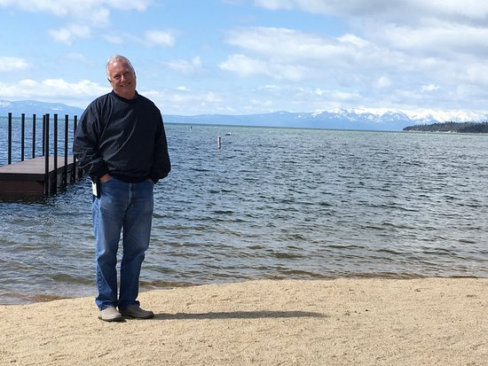 Lake Tahoe Vacation Resort: they have a small beach area with a great view of the lake