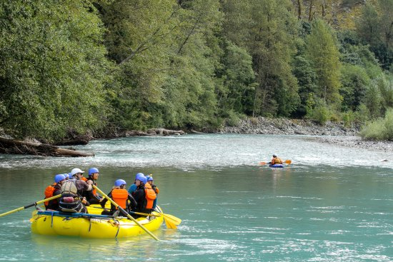 Squamish Rafting Company: Fun for the whole family!