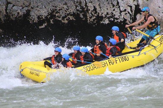 Brackendale, Канада: Woohooo! Squamish Rafting Company!