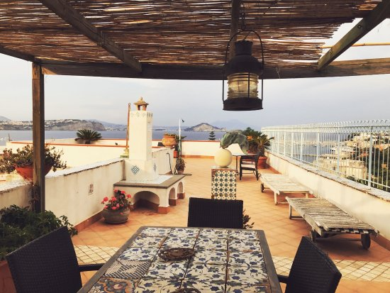 La terrazza - Picture of Bed & Breakfast La Terrazza, Procida ...