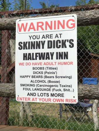 Skinney dicks half way inn