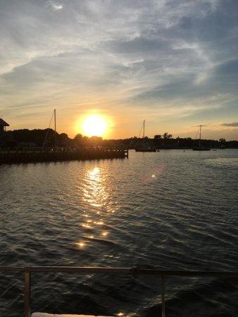 St. Michaels, MD: Sunset aboard the Krentz