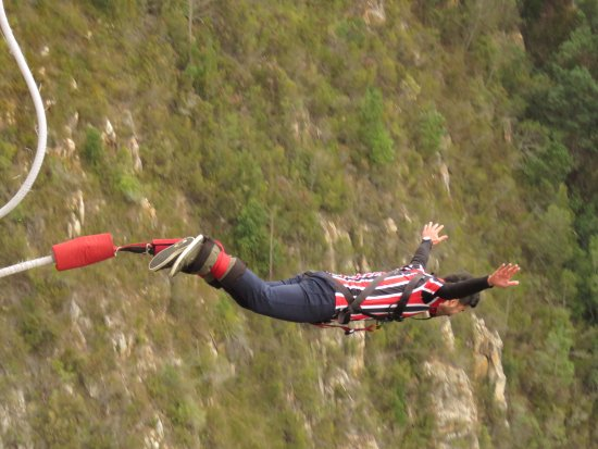 Face Adrenalin - Bloukrans Bungy: O salto!
