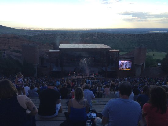 Red Rocks Park and Amphitheatre : The Infamous Stringdusters opening for Ryan Adams