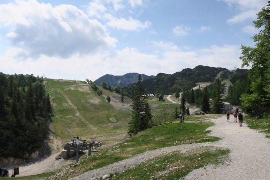Bohinjsko Jezero, Slovenien: Hiking