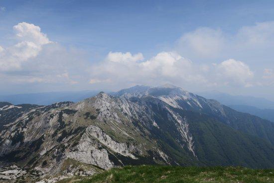 Jezioro Bohinjsko, Słowenia: Hiking