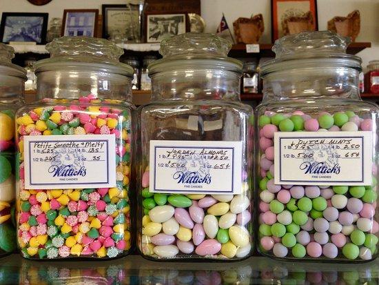 Circleville, Οχάιο: jars of old-time candies