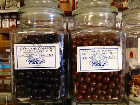 Circleville, Οχάιο: expresso chocolate candy