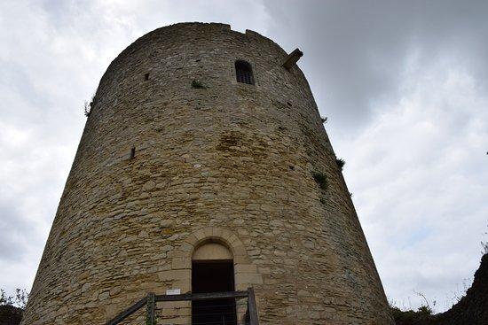 La Roche-Guyon, Frankrig: Castle keep