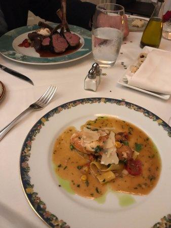l'etoile: Menemsha lobster, and the rack of lamb