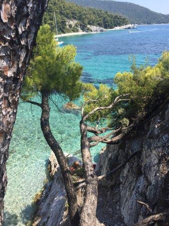 Neo Klima, اليونان: Diverse bilder fra Chovolo beach