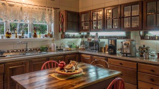 Hotel Frau Holle: Cocina de para preparación de desayunos