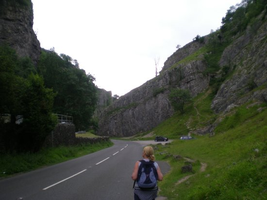 Cheddar, UK: strolling along absolutely amazing