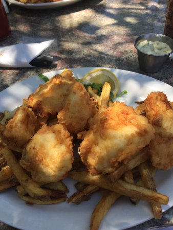 Mancos, CO: Amazing chunks of white fish hand breaded and fried to perfection
