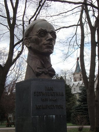 Monument of Jan Sztwiertnia