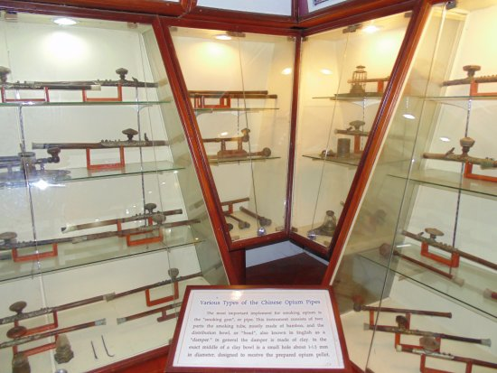 Chiang Saen, Thailand: Artefactos para inhalar