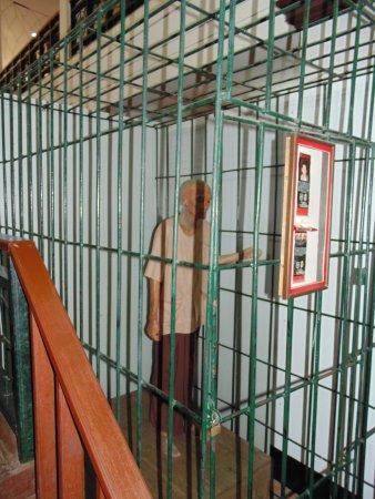 Chiang Saen, Thailand: Recreación de consecuencias del consumo