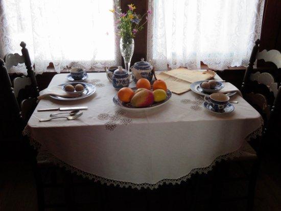 Stranahan House: Petite Table Pour Déjeuner Dans La Cuisine
