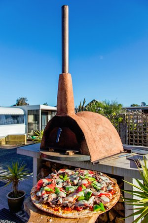 Waihi, Nuova Zelanda: Wood Fired Pizza Oven
