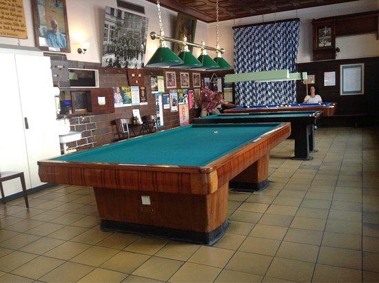 Carambola and pool