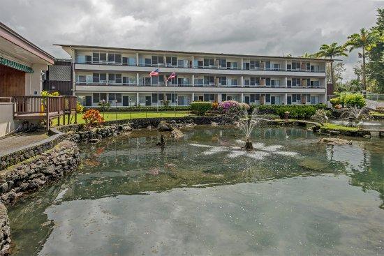 Hilo Seaside Hotel: facciata lato strada