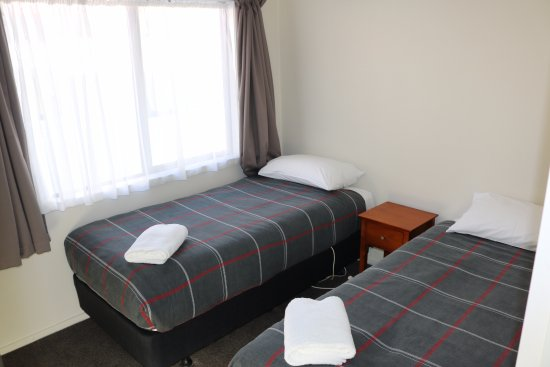 Waihi, Νέα Ζηλανδία: Park Motel - 2 x Single bedroom