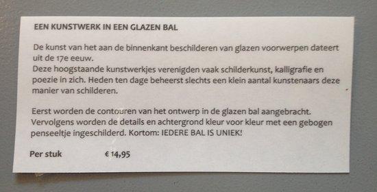 Schiermonnikoog, Nederland: beschrijving beschildering