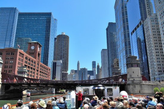 chicago architecture foundation river cruise - picture of