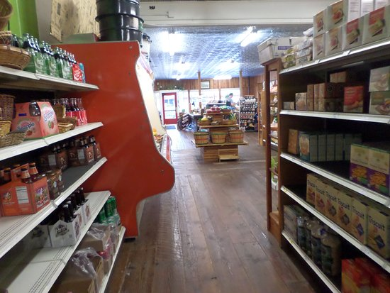 Cornucopia, WI: Inside of store