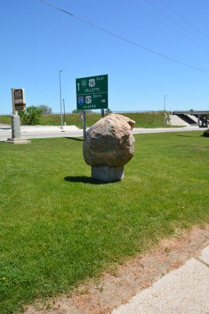 Buffalo, WY: Out front