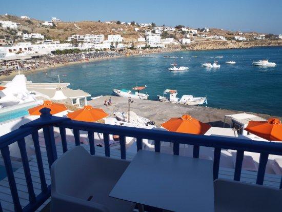 Petasos Beach Resort Spa View From Room Balcony
