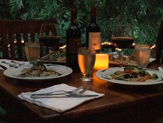 Victoria's Gourmet Italian Restaurant : Great Italy in the Jungle setting
