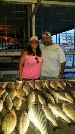 Lake Texoma Striper Guide Photo