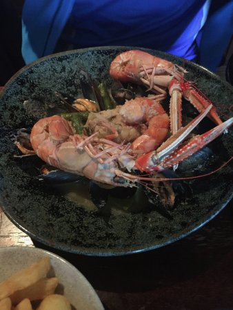 Lochinver, UK: Ludicrously good langoustines