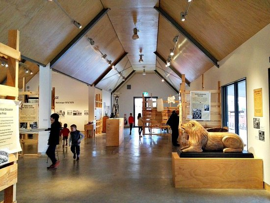 Greytown, Nowa Zelandia: Inside the main exhibition building