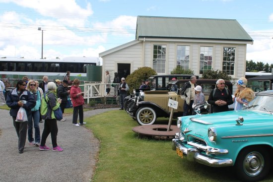 Greytown, New Zealand: Car rally at Cobblestones