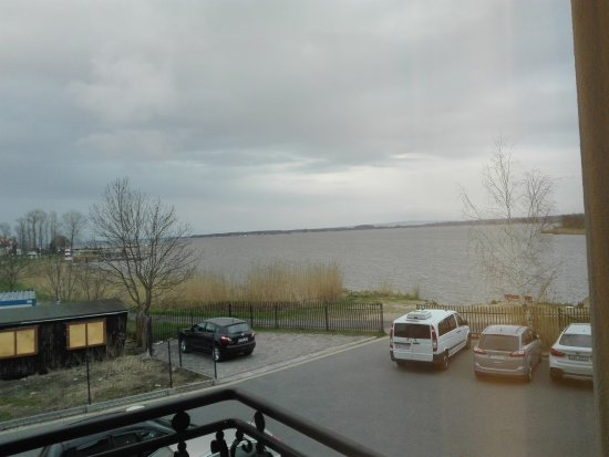 Marina Mielno Z widokiem na jezioro